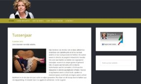 website Brigitte Kaandorp door Alfabet Produkties