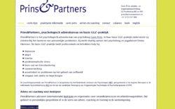 website Prins en Partners Psychologenpraktijk door Alfabet Produkties