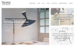 website Terstal Interieurs door Alfabet Produkties