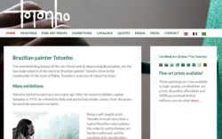 website Totonho door Alfabet Produkties