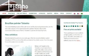 website Totonho door Alfabet Produkties