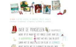 website Prinsessenboeken door Alfabet Produkties
