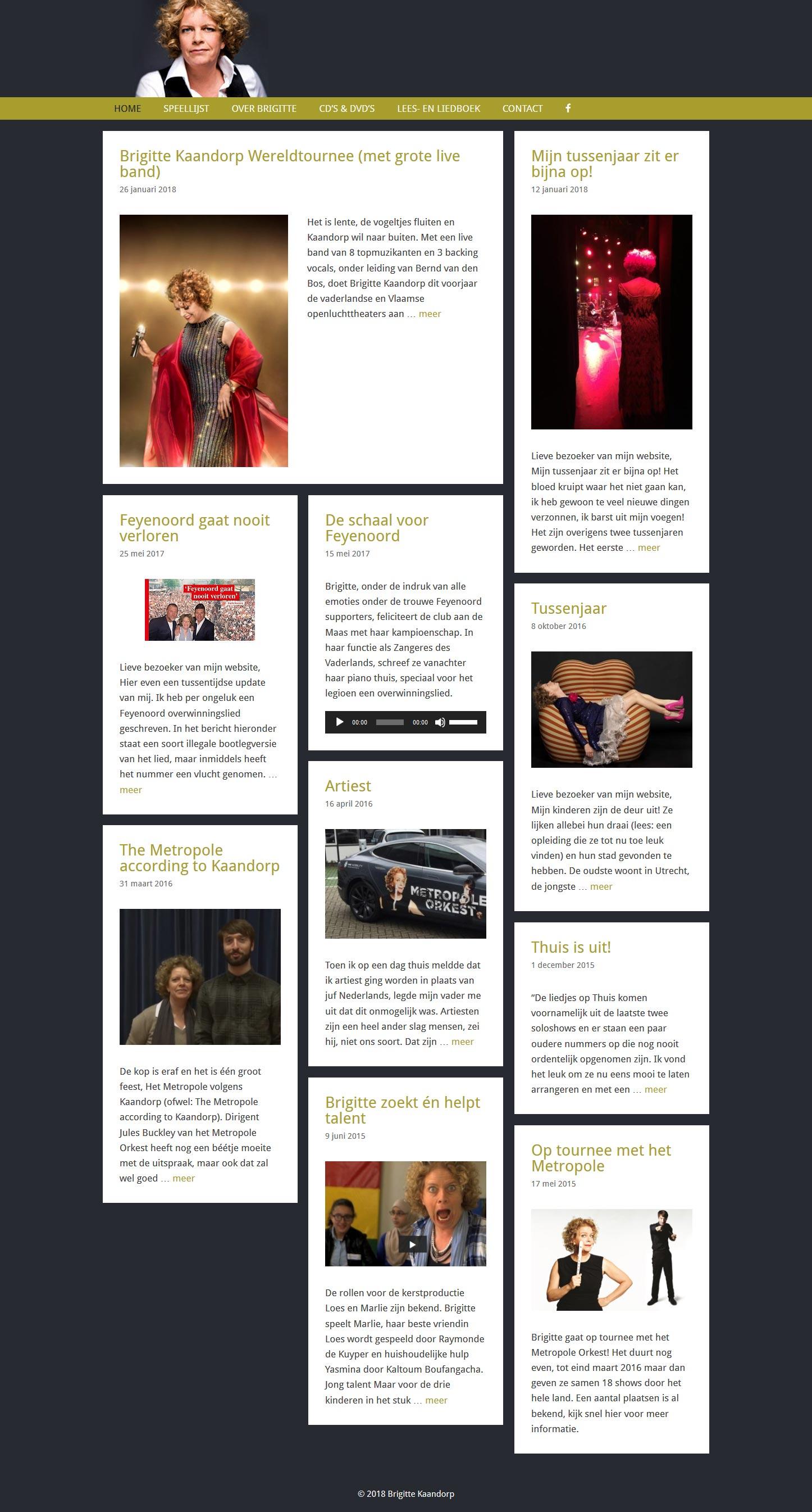 website Brigitte Kaandorp