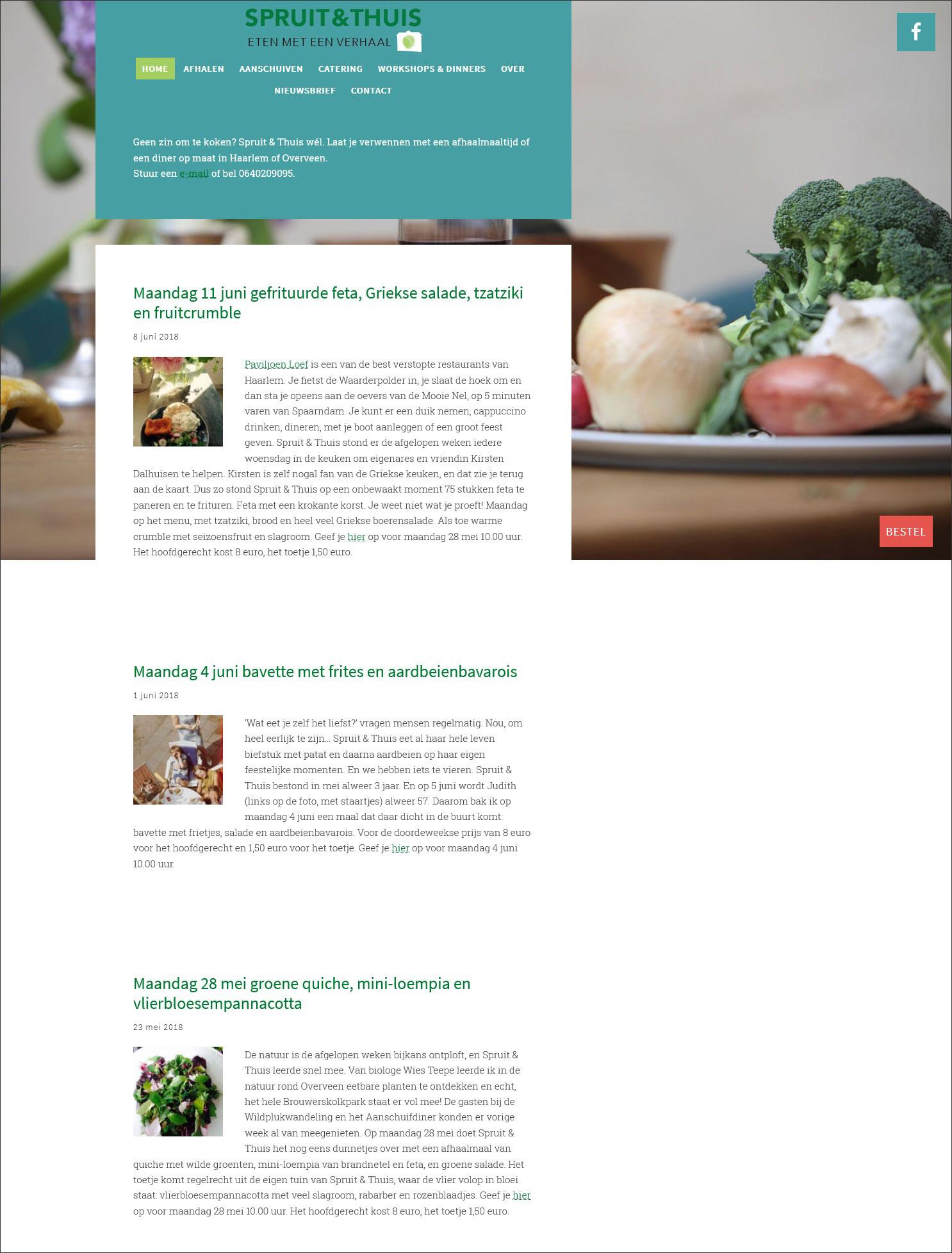 website Spruit & Thuis