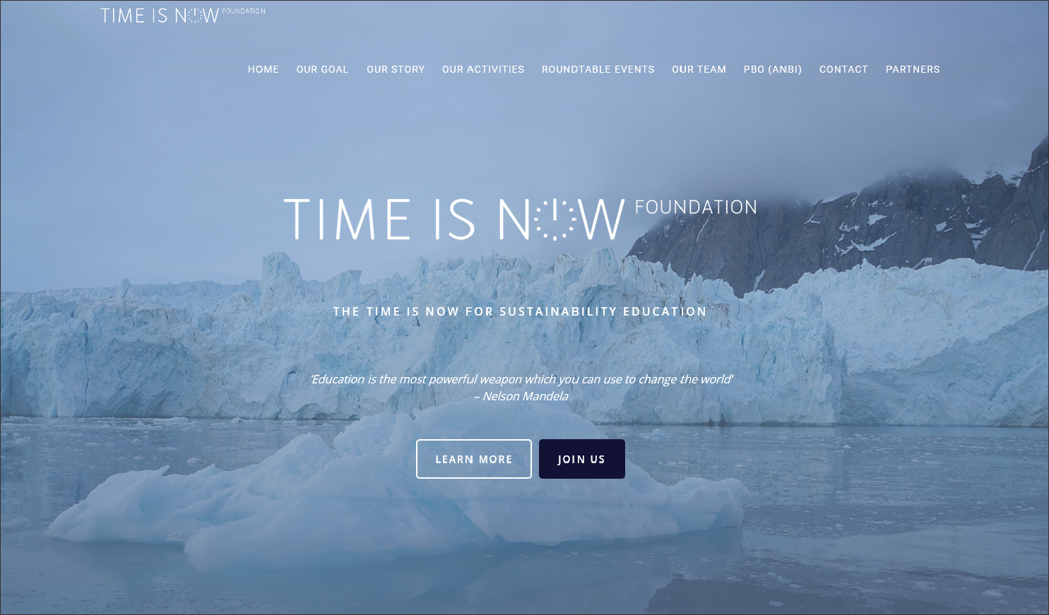 website Time is Now Foundation