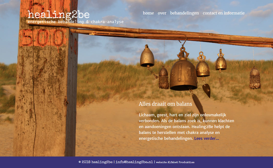 website Healing2Be