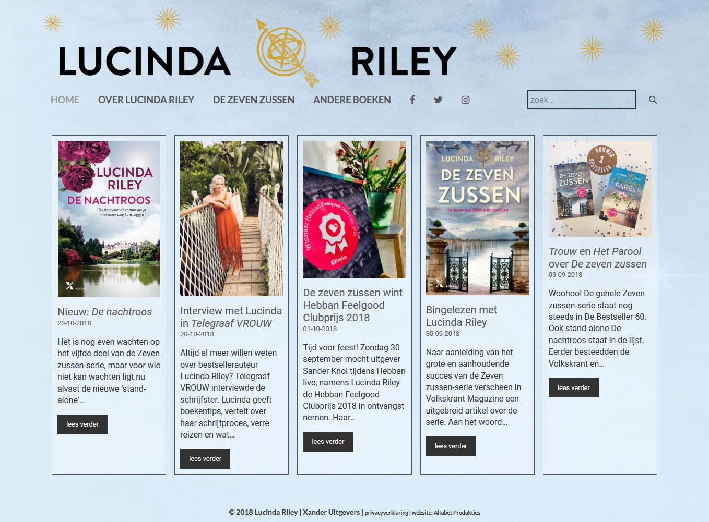 website Lucinda Riley